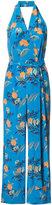 Diane von Furstenberg floral jumpsuit - women - Silk - 4