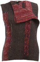 Yang Li woven vest - women - Silk/Cotton/Polyamide/polyester - 40