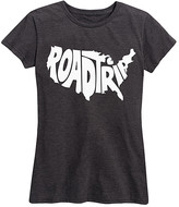 Instant Message Women's Women's Tee Shirts HEATHER - Heather Charcoal 'Road Trip' Relaxed Fit Tee - Women