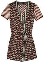 Maison Scotch Mixed Print Dress