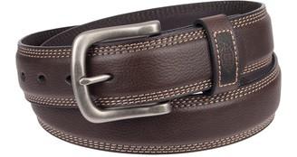 Dickies Men's Bonded-Leather Belt