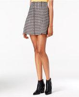 XOXO Juniors' Printed A-Line Skirt