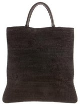 Jil Sander Woven Leather Tote