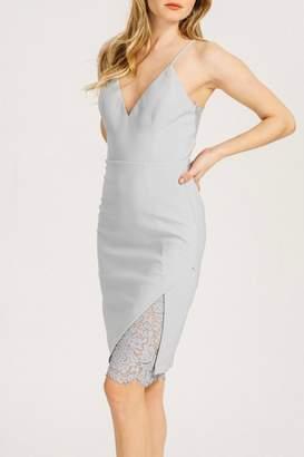 Pretty Little Things Lace Peekaboo Dress