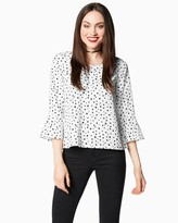 Charming charlie Midnight Beauty Blouse