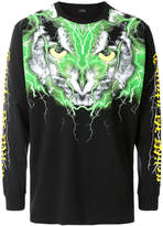 Marcelo Burlon County of Milan owl printed sweatshirt