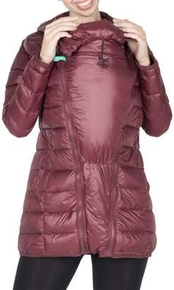 Modern Eternity Rachel 3-in-1 Lightweight Down Maternity Jacket