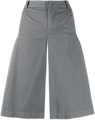 Mr & Mrs Italy Wide-Leg Cropped Trousers