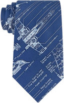 Star Wars STARWARS Blue Print Tie