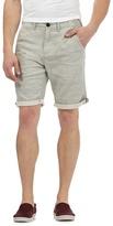 Red Herring Grey Marl Chino Shorts