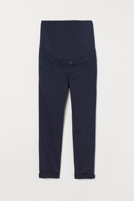 H&M MAMA Cotton Chinos - Blue