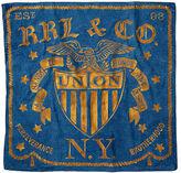 Ralph Lauren RRL Indigo-Dyed Cotton Scarf