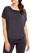 Lucy To The Barre Short Sleeve Top