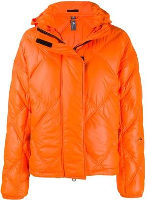 adidas by Stella McCartney Logo-Print Puffer Jacket