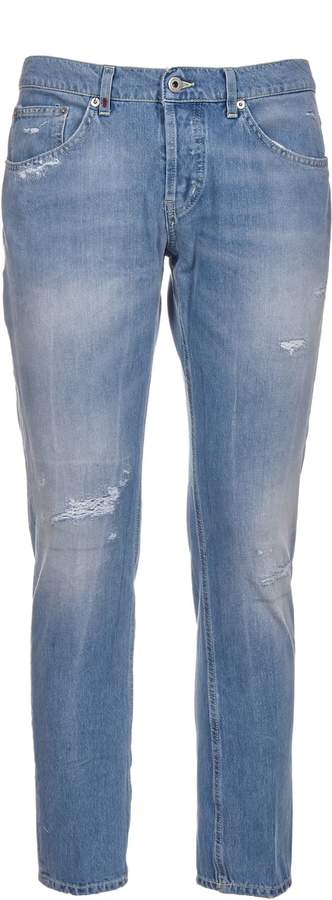 Dondup Distressed Skinny Fit Jeans