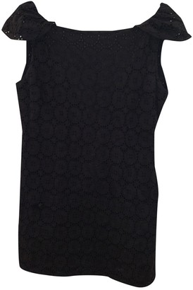 Vix Paula Hermanny Black Cotton Dress for Women