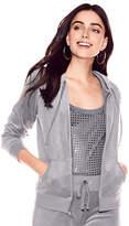 New York & Co. Velour Hooded Jacket