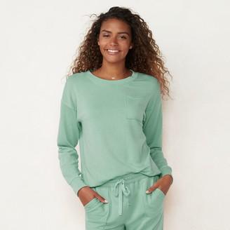 Lauren Conrad Women's Drawstring Sweatshirt