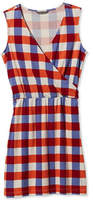 L.L. Bean Signature Sleeveless Knit Dress, Check