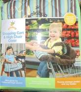 Gold Bug Shopping Cart and High Chair Cover
