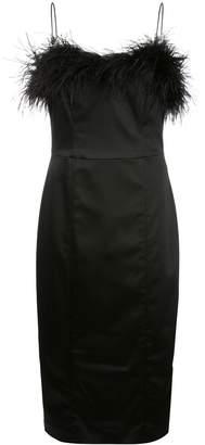 Veronica Beard embroidered midi dress