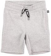 Molo Akon Heathered Jersey Sweat Shorts, Gray, Size 4-12