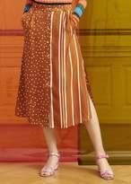 Stine Goya Michelle Skirt Dots And Stripes