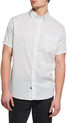 Rails Men's Carson-Printed Short-Sleeve Sport Shirt