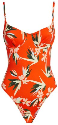 Solid & Striped Taylor Floral Swimsuit