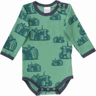 Fred's World by Green Cotton Baby Boys' Farming Body Shaping Bodysuit