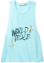 Vintage Havana World Peace Slub Tank (Big Girls)