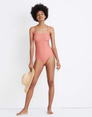 Madewell x Land of Women Lilia One-Piece Swimsuit
