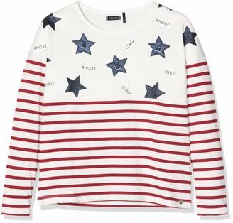 Ikks Junior Girl's Tee Shirt Ml Mariniere Etoile T