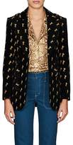 Chloé Women's Archival Embroidery Velvet Jacket