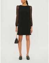 Claudie Pierlot Reverence woven mini dress