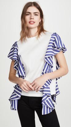 ADEAM Ruffle T-Shirt