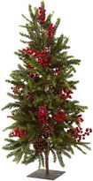 Asstd National Brand 36 Pine And Berry Christmas Tree