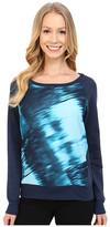 Calvin Klein Jeans Long Sleeve Printed Voyeur Sweatshirt