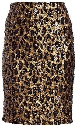 Alice + Olivia Ramos Sequin Pencil Skirt