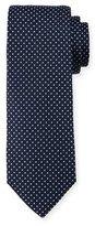 HUGO BOSS Pindot Silk Tie, Blue