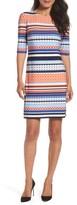 Eliza J Women's Stripe Shift Dress