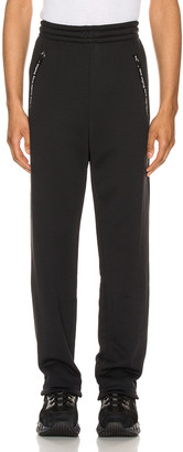 Acne Studios Logo Trousers in Black | FWRD