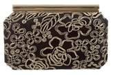 Oscar de la Renta Embroidered Clutch