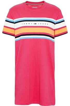 Tommy Jeans Stripe T Shirt Dress
