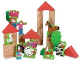 Edushape My Soft World Farm Building Blocks