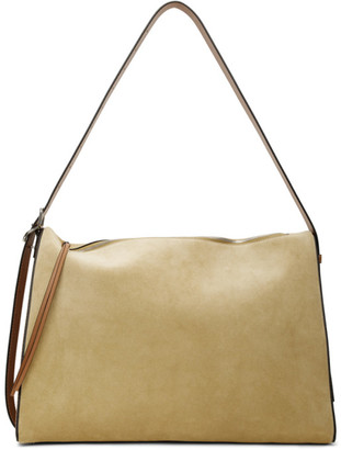 Loewe Brown and Tan Large Berlingo Bag