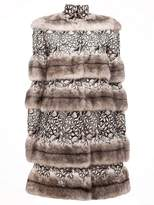 Giambattista Valli embellished high neck coat
