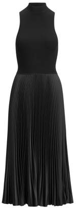Ralph Lauren Sleeveless Mockneck Dress