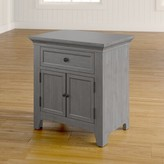 Three Posts Woodside 1 Drawer Nightstand Color: Antique Gray