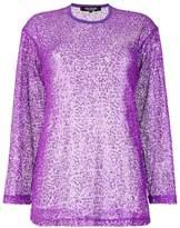 Junya Watanabe net detail sweatshirt